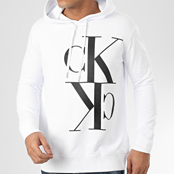 Sweat Capuche 2983 Blanc