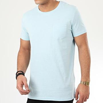 Tee Shirt Poche H12022W20898C Bleu Ciel