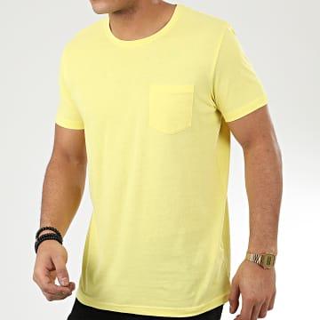 Tee Shirt Poche H12022W20898C Jaune