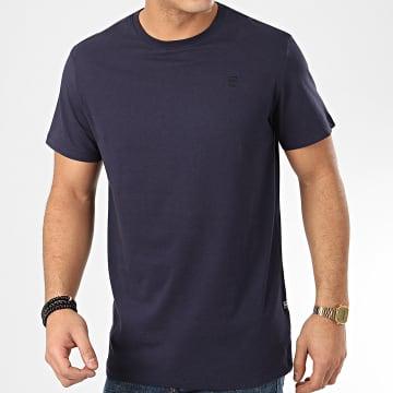 G-Star - Tee Shirt Base Bleu Marine