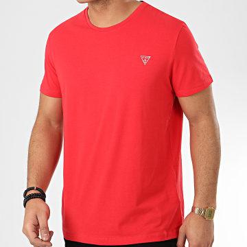 Guess - Tee Shirt U94M09 Rouge