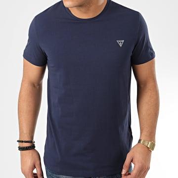 Guess - Tee Shirt U94M09 Bleu Marine
