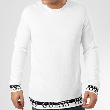Guess - Pull M0GR44 Blanc