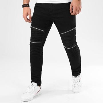 LBO - Jean Skinny Avec Zips L818 Noir