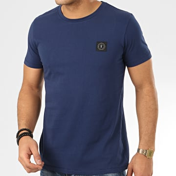 Tee Shirt Brown Bleu Marine