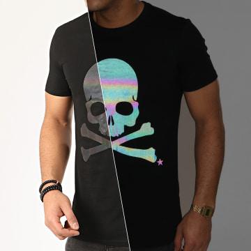 Terance Kole - Tee Shirt Réfléchissant Iridescent 98355 Noir