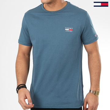 Tee Shirt Chest Logo 7472 Bleu Clair