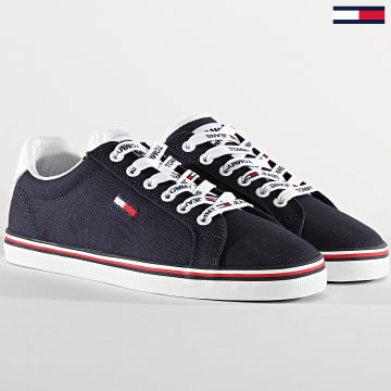 Baskets Femme Essential Lace Up Sneaker 0786 Twilight Navy