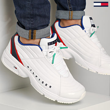 Basket Heritage Tommy Jeans Sneaker 0441 White