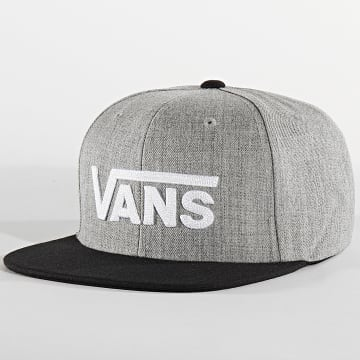 Vans - Casquette Snapback Drop V Gris Chiné