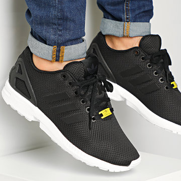 Baskets ZX Flux M19840 Black One White