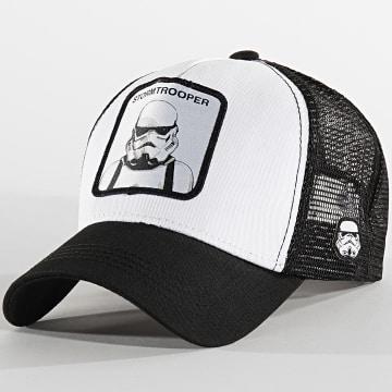 Casquette Stormtrooper Blanc Noir