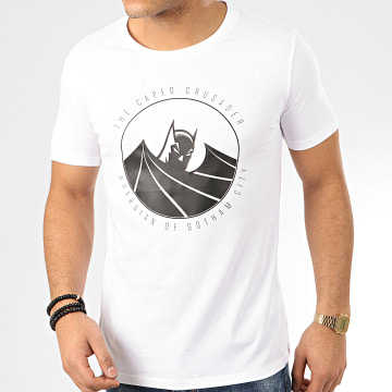 DC Comics - Tee Shirt Capped Crusader Blanc