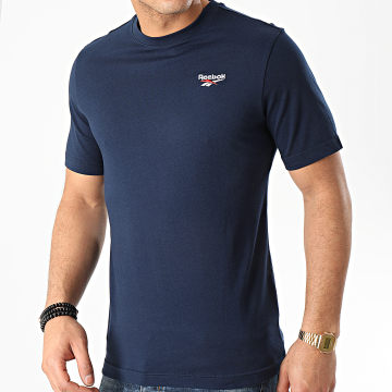 Reebok - Tee Shirt Classic F Small Vector FK2667 Bleu Marinec