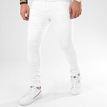 Jean Skinny 66117 Blanc