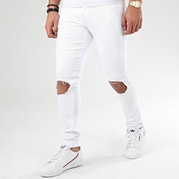 Jean Skinny Destroy 72297 Blanc