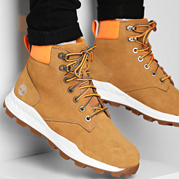 Boots Brooklyn 6 Inch A2DSZ Wheat Nubuck Camel