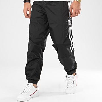 Adidas Originals - Pantalon Jogging A Bandes Ripstop FM9886 Noir