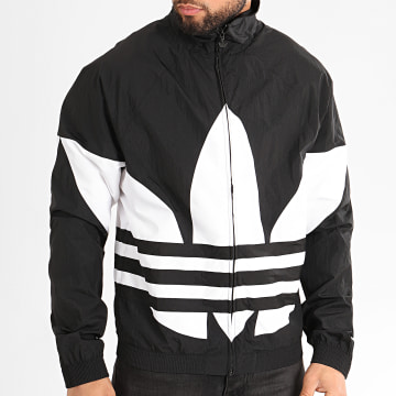 Adidas Originals - Veste Zippée Big Trefoil FM9892 Noir