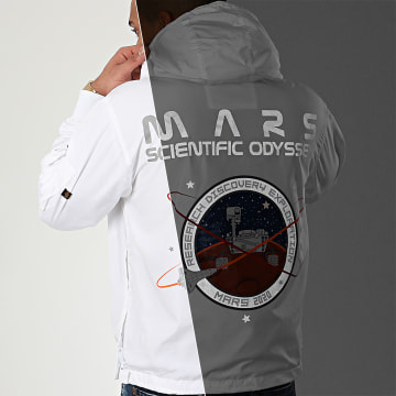 Alpha Industries - Coupe-Vent Mars Mission 126132 Blanc