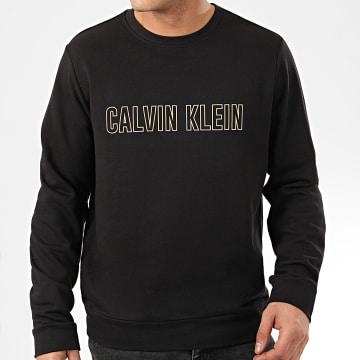 Calvin Klein - Sweat Crewneck GMS0W367 Noir Réfléchissant