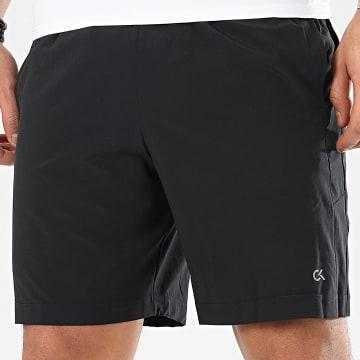 Short Jogging S821 Noir Réfléchissant