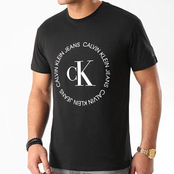 Calvin Klein - Tee Shirt CK Round Logo 4760 Noir