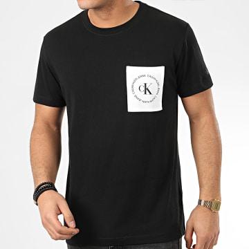 Calvin Klein - Tee Shirt Poche 4761 Noir