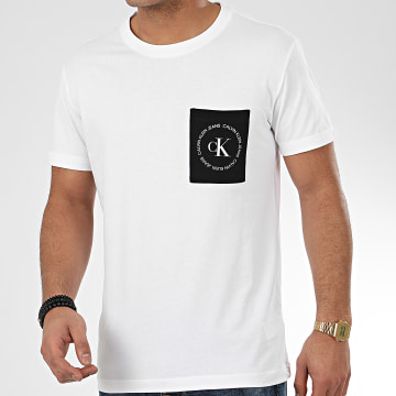 Tee Shirt Poche 4761 Blanc