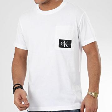 Calvin Klein - Tee Shirt Poche 4820 Blanc