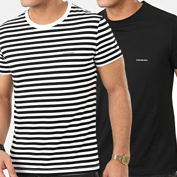 Lot De 2 Tee Shirts 5194 Noir Blanc