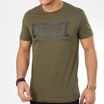 Tee Shirt Diego Logo 00SXED-0AAXJ Vert Kaki