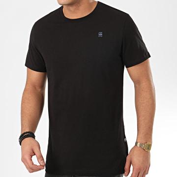 G-Star - Tee Shirt Base 16411-336 Noir