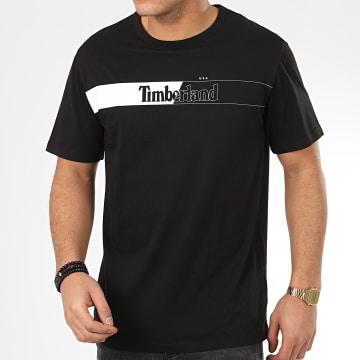 Tee Shirt Horiz Timb T L4L A2CGU Noir