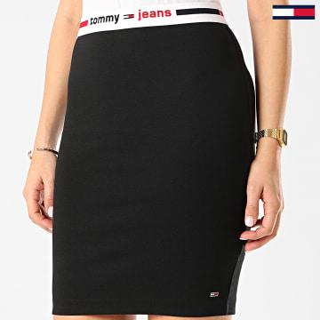 Tommy Jeans - Jupe Femme Bodycon 8120 Noir