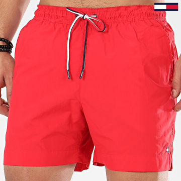 Short De Bain Medium Drawstring 1710 Rouge