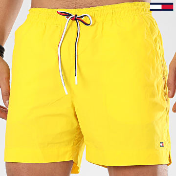 Tommy Hilfiger - Short De Bain Medium Drawstring 1710 Jaune