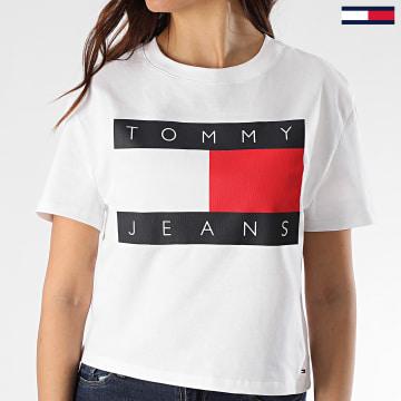 Tee Shirt Femme Tommy Flag 7153 Blanc