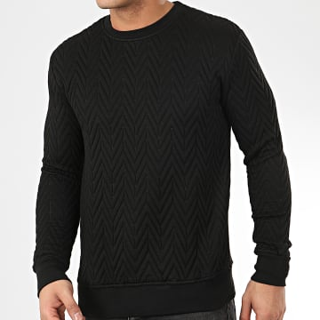 Sweat Crewneck HD-12 Noir