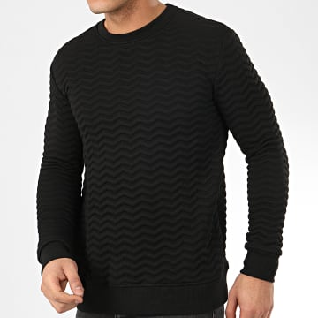 Sweat Crewneck HD-7 Noir
