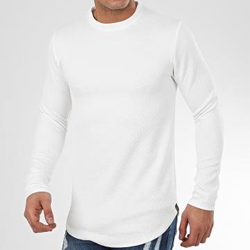 Sweat Crewneck Oversize T672 Blanc