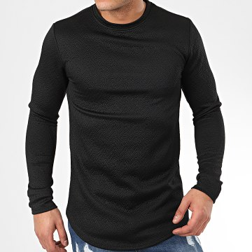 Sweat Crewneck Oversize T672 Noir