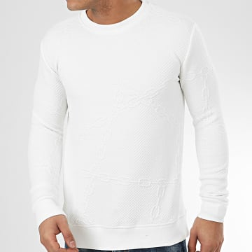 Sweat Crewneck HD-8 Blanc