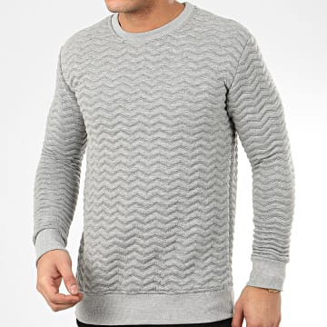 Sweat Crewneck HD-7 Gris Chiné