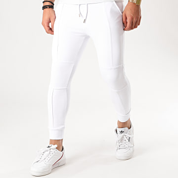 Uniplay - Pantalon Jogging PNS-10 Blanc