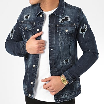 Uniplay - Veste Jean 224 Bleu Denim