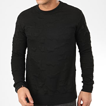 Sweat Crewneck HD-10 Noir