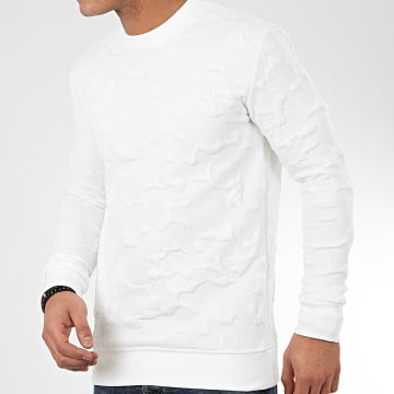 Sweat Crewneck HD-10 Blanc