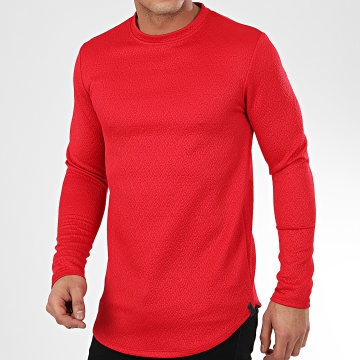 Sweat Crewneck Oversize T672 Rouge