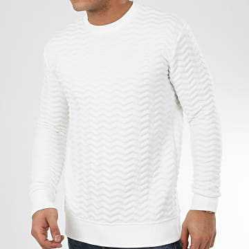 Sweat Crewneck HD-7 Blanc